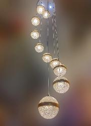Pendant LED Light Chandelier For Home And Hotel Staircase