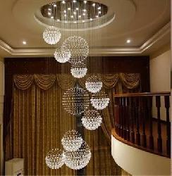 Big Size Crystal Design Pendent Chandeliers