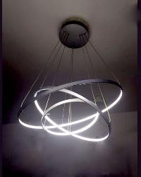 Gray Ring Cool Warm White Pendant Chandeliers Light