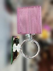 Vintage Look Or A Gorgeous Girly Bedroom Pink Color Wall Lamp