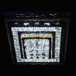 Square Shape Multi Colored LED Light And Musical Chandelier