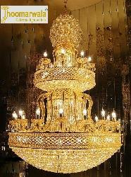 Candle Golden Chandelier