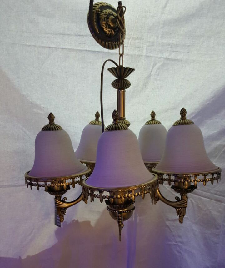 Antique chandeliers online buy modern chandeliers in india 5 light antique chandelier aloadofball Images