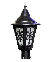 The Star Model Big Size Black Waterproof and Rust Proof Home Outdoor Gate Lamp