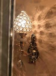 Crystal Wall Lamp For Bedroom