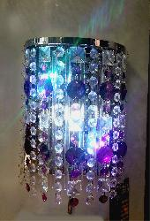 Crystal Gazing LED Wall Lamp