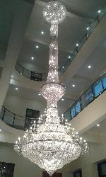 Large Size Crystal Chandelier For Temple