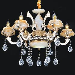 Italian jhoomar With Marvel Design Hanging Candle Chandelier