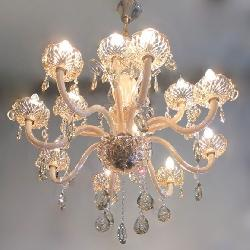 Luxury Crystal Pendant Italian Design Chandelier