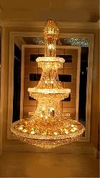 Big size Golden Maharaja Chandelier