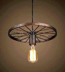 Jhoomarwala Modern Design Wheel Hanging Light
