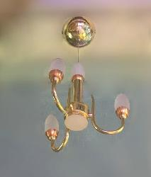 Beautiful Chili Bulb With Three Colors LED Light Hanging Chandelier