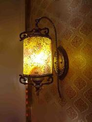 Glass Texture Royal Look Wall Lamp