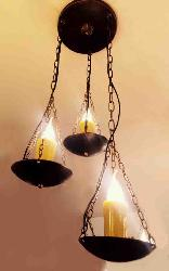 Beautiful Candle Design Antique Hanging Outdoor Light