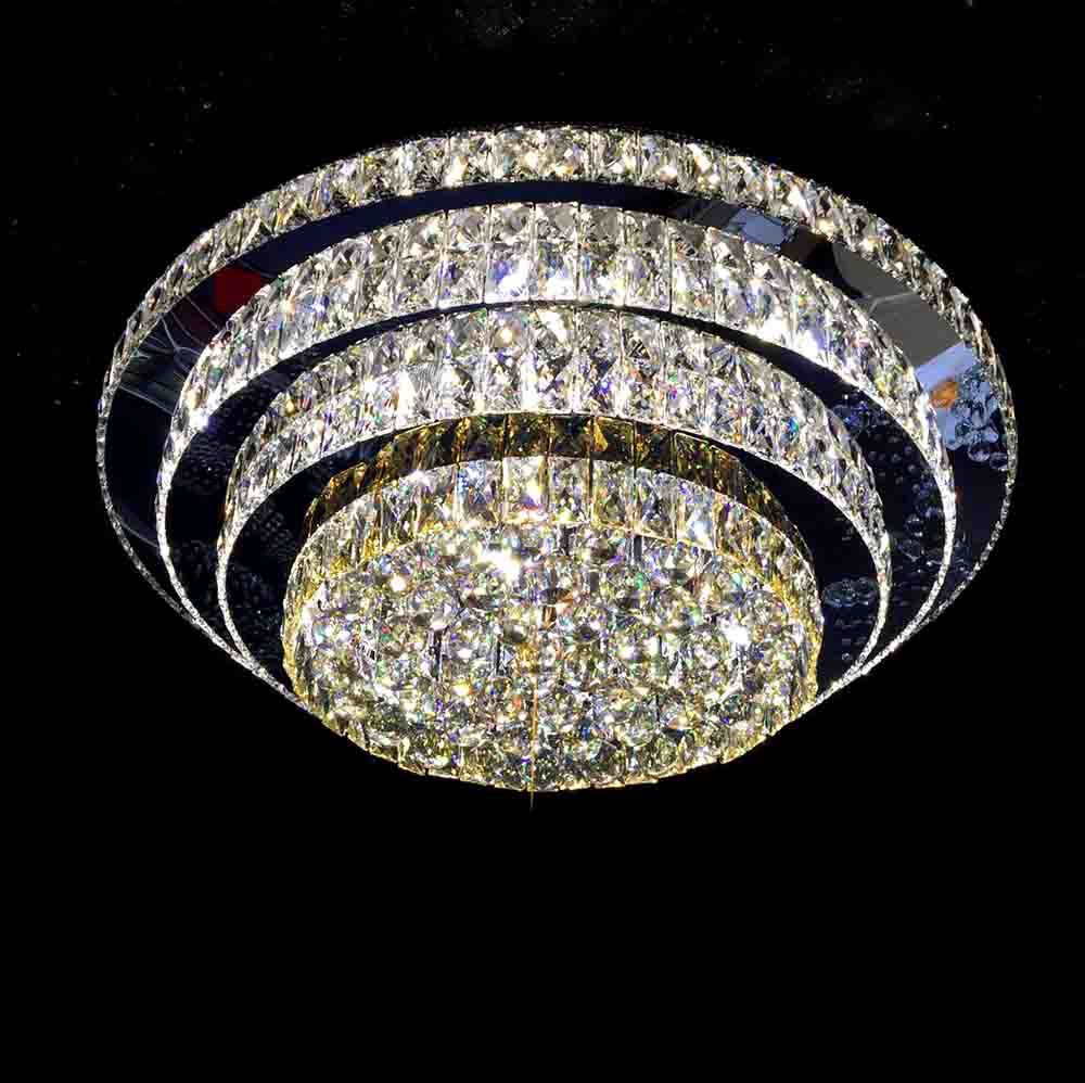 Modern Shaped Crystal Chandeliers