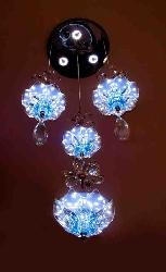 Butterfly Crystal Flower Design LED Hanging Light