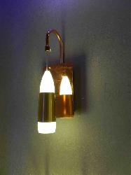 Latest Design Copper Finish LED Hang Wall Sconce