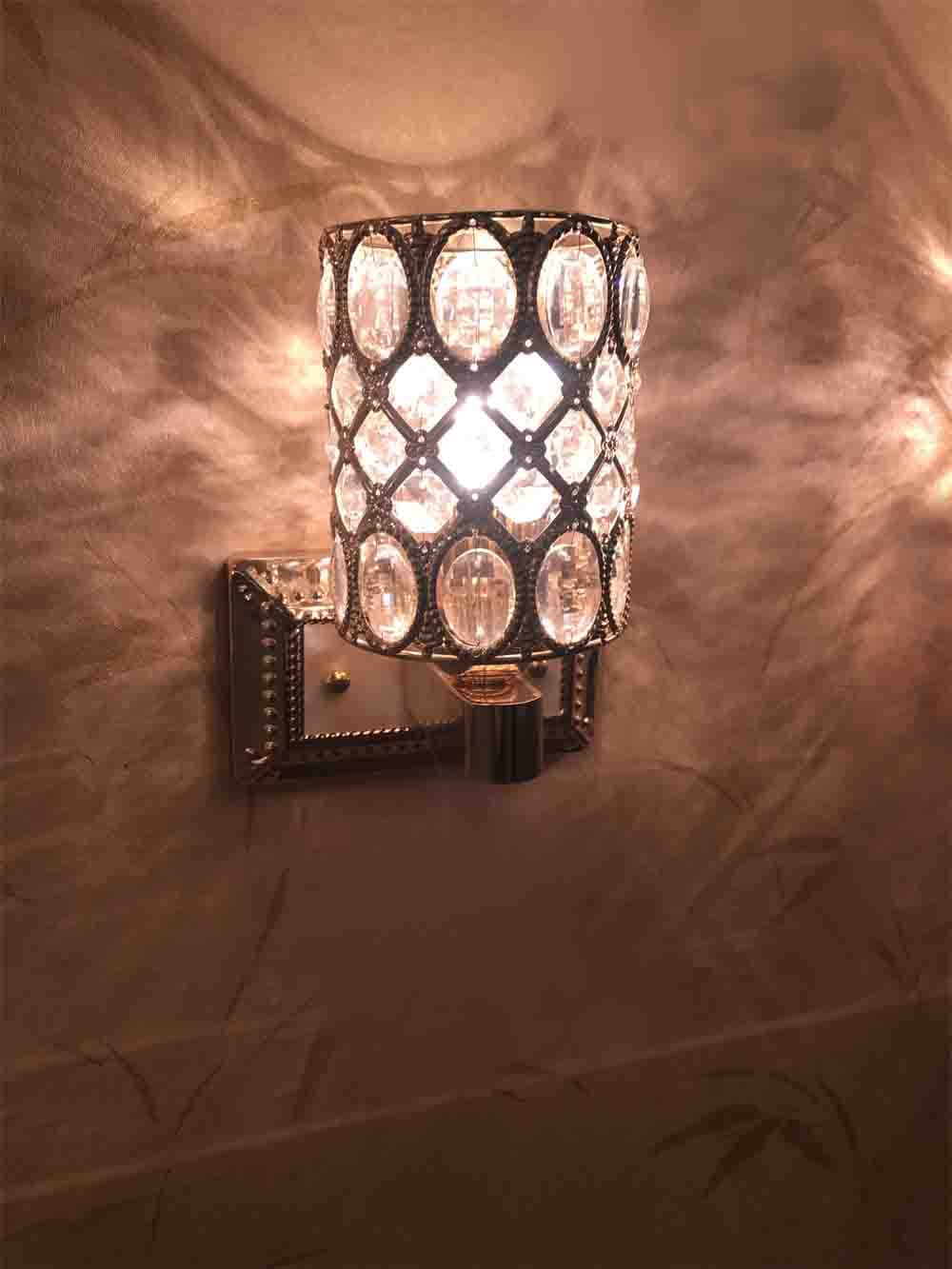 Wall lights buy wall lights online at best prices in india aesthetics crystal wall lamp mozeypictures Gallery