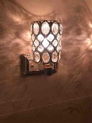 Aesthetics Crystal Wall Lamp