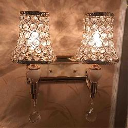 Crystal Decorative Double Wall Lamp